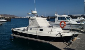 Orka 685 Fisher with Berth in Playa Blanca