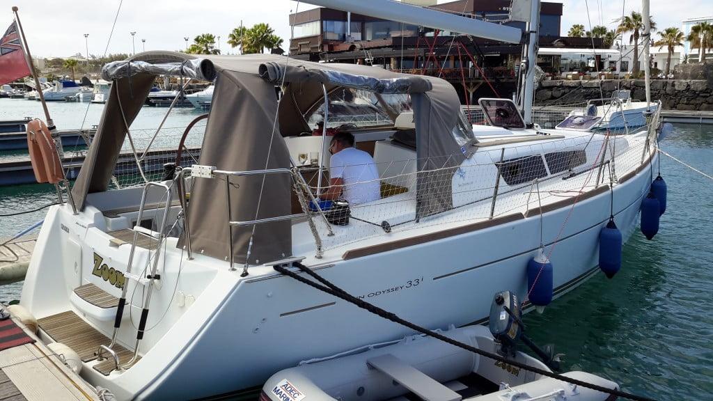Jeanneau Sun Odyssey 33i Canary Yacht Brokers