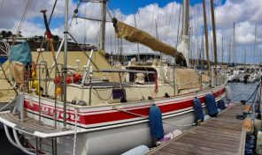 Natascha sailing yacht