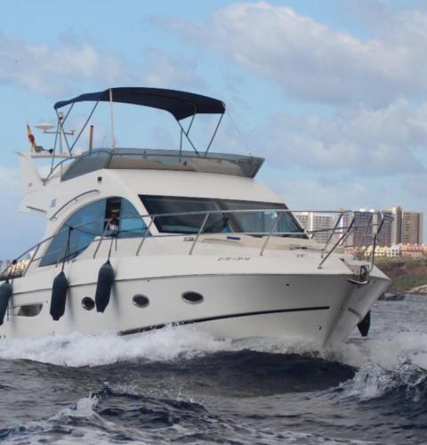 Navegacion Galeon yacht