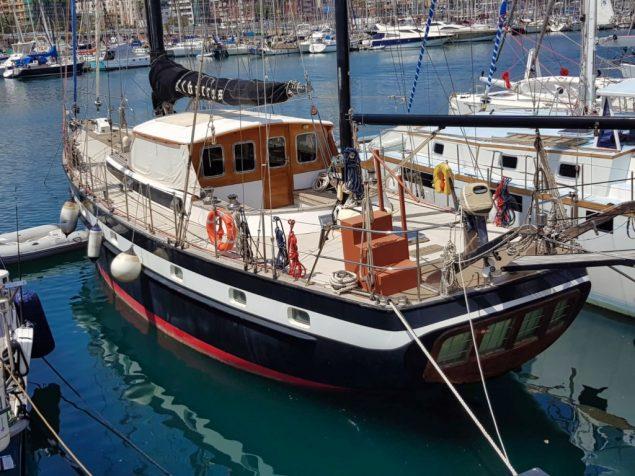 Jongert sailing yacht